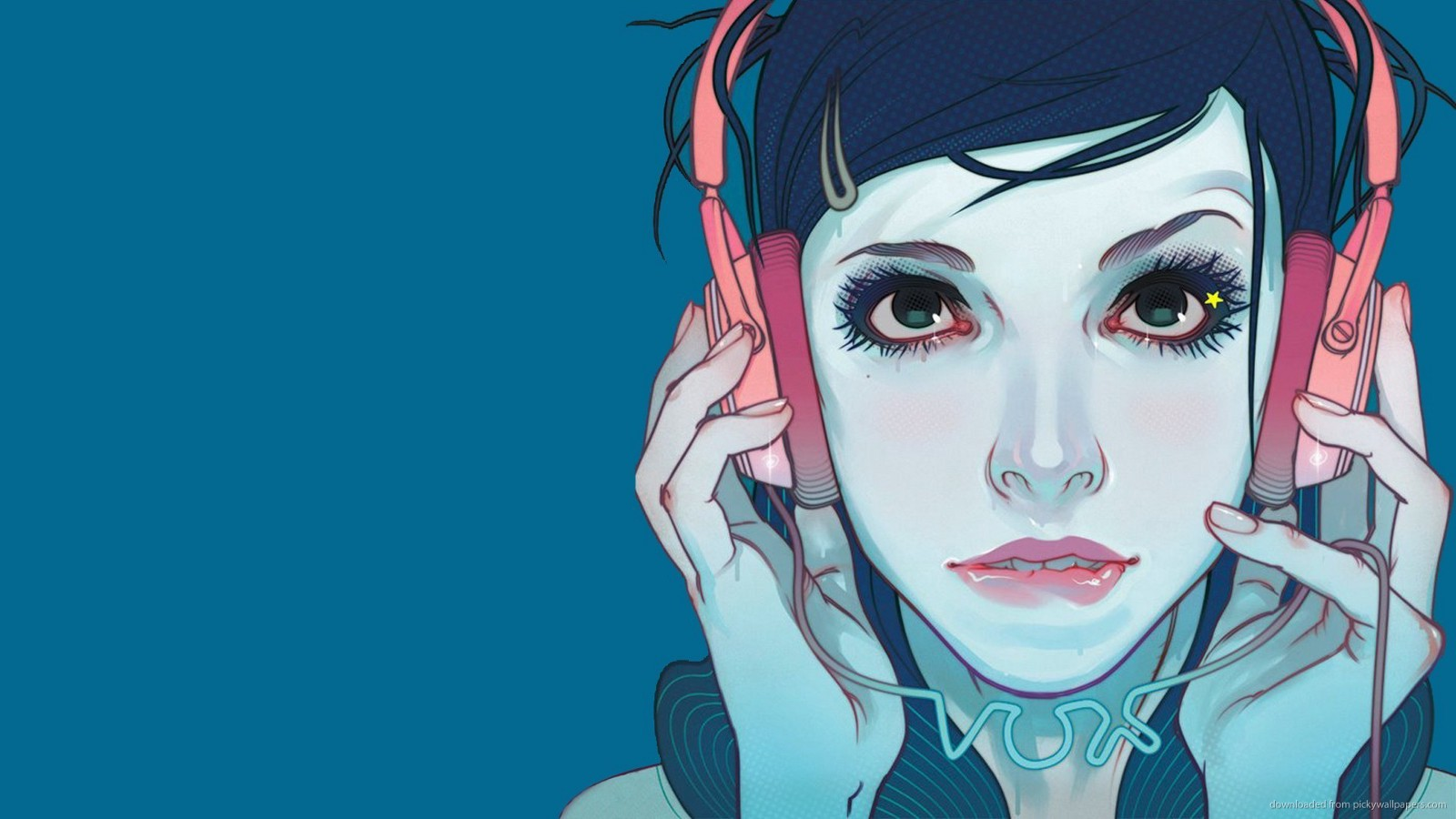 Girl Listening To Headphones Wallpaper Como Escuchar M 250 Sica Con Mejor Calidad En Youtube Master