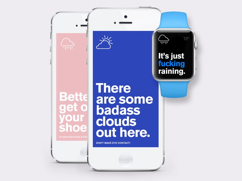 What the heck is the story with weather apps? \u2013 Muzli - Design