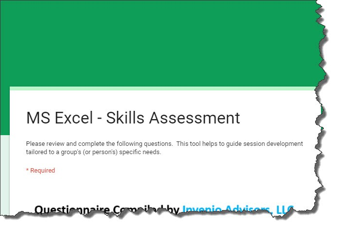 Microsoft Excel \u2014 How Are Your Excel Skills? (UPDATED)