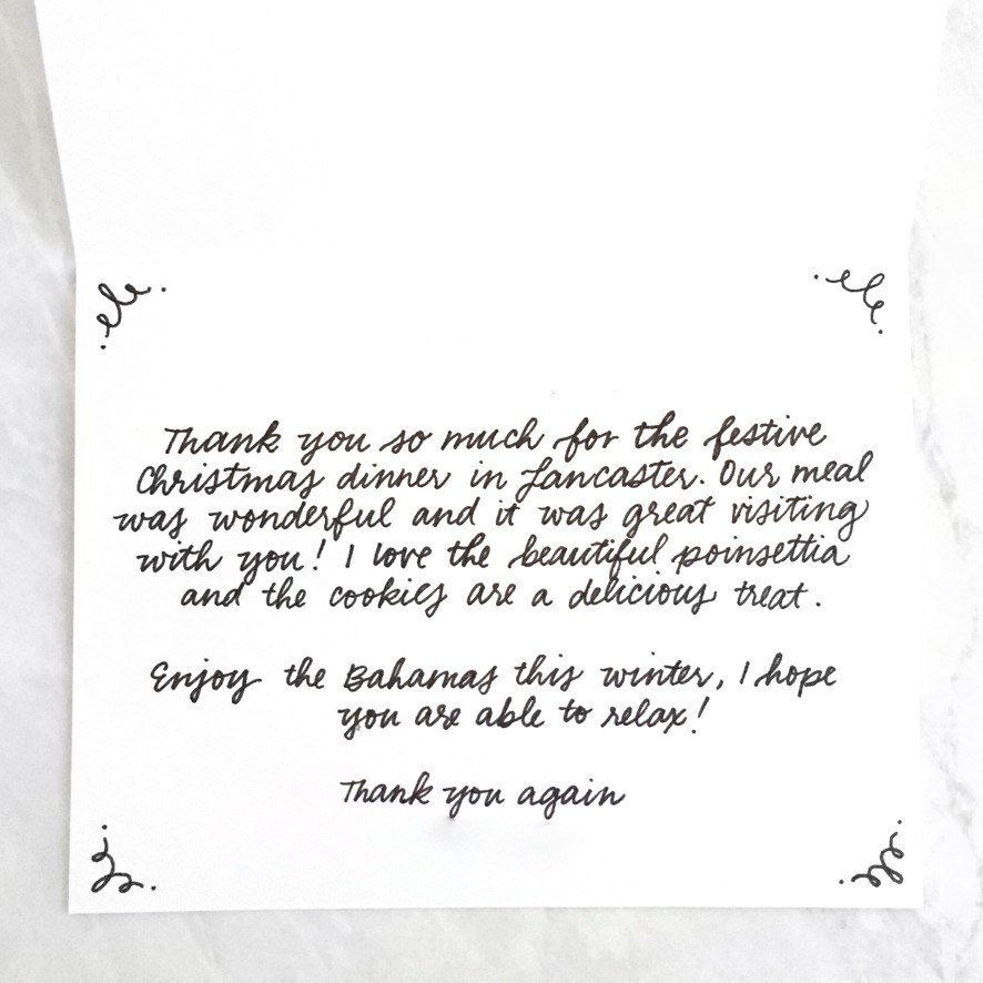 What to Write in Your Holiday Thank You Cards \u2013 Punkpost \u2013 Medium