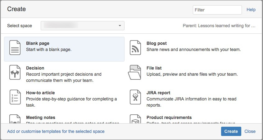 7 tips for creating and managing better Confluence spaces