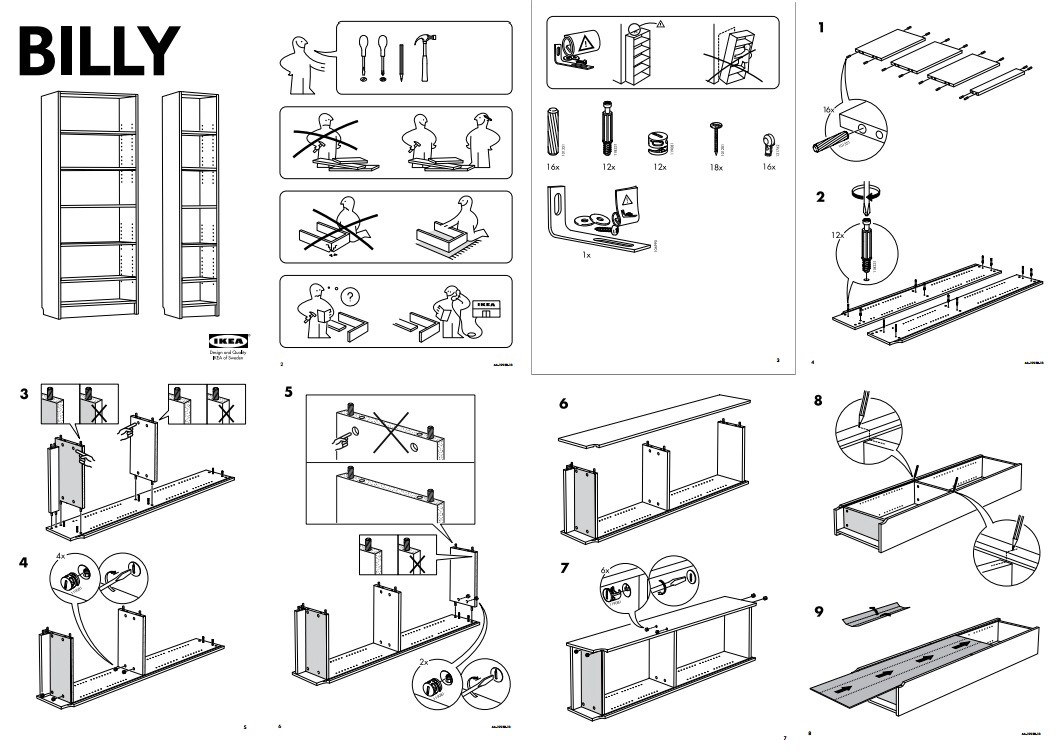 How Ikeas Assembly Instructions Champion Universal Design
