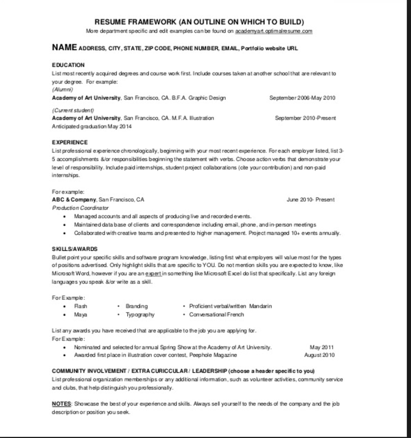 resume mean chinese