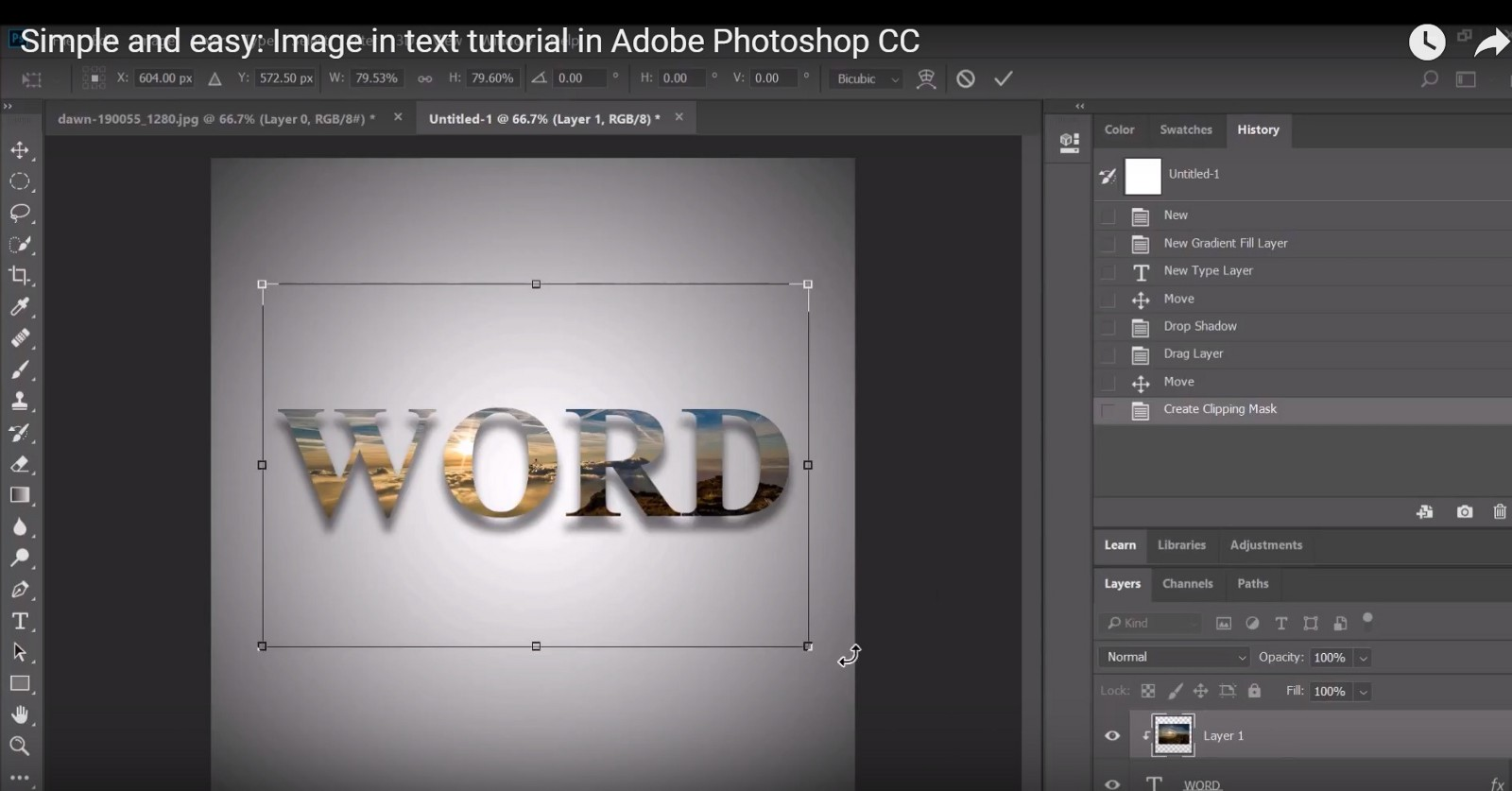 Photoshop 6 Photoshop Tutorial 6 Image In Text Tutorial Productive Grind