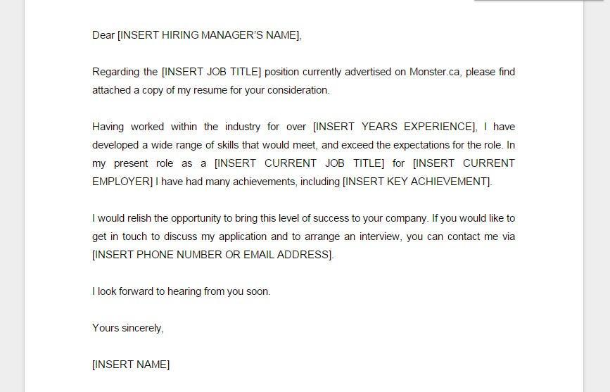 Qué es una Cover Letter y cómo crear la tuya \u2013 Aveces pienso \u2013 Medium