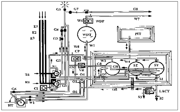 labeled diagram of a battery
