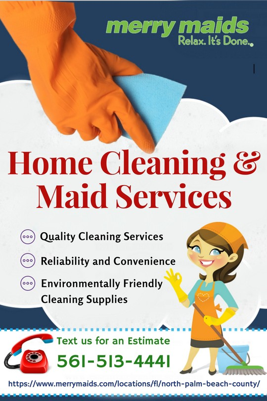 Professional Home Maintenance Services in Florida \u2013 Merry Maids \u2013 Medium