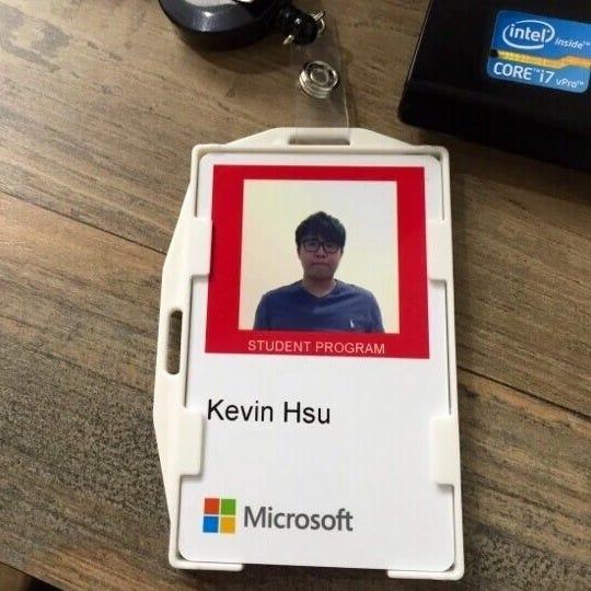 Thank you, Microsoft, for the amazing Software Engineer Internship - interning at microsoft