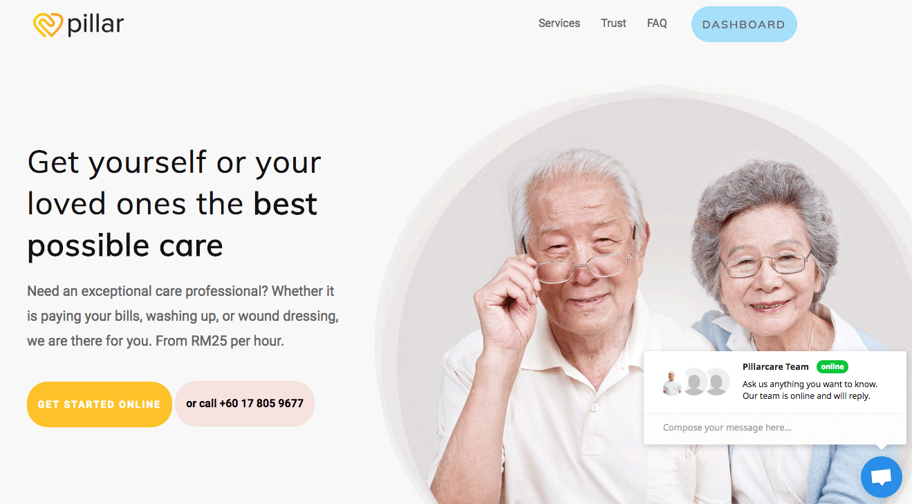 Home Care Service Elderly Home Care Service Pillar Announces Launch In Kuala Lumpur