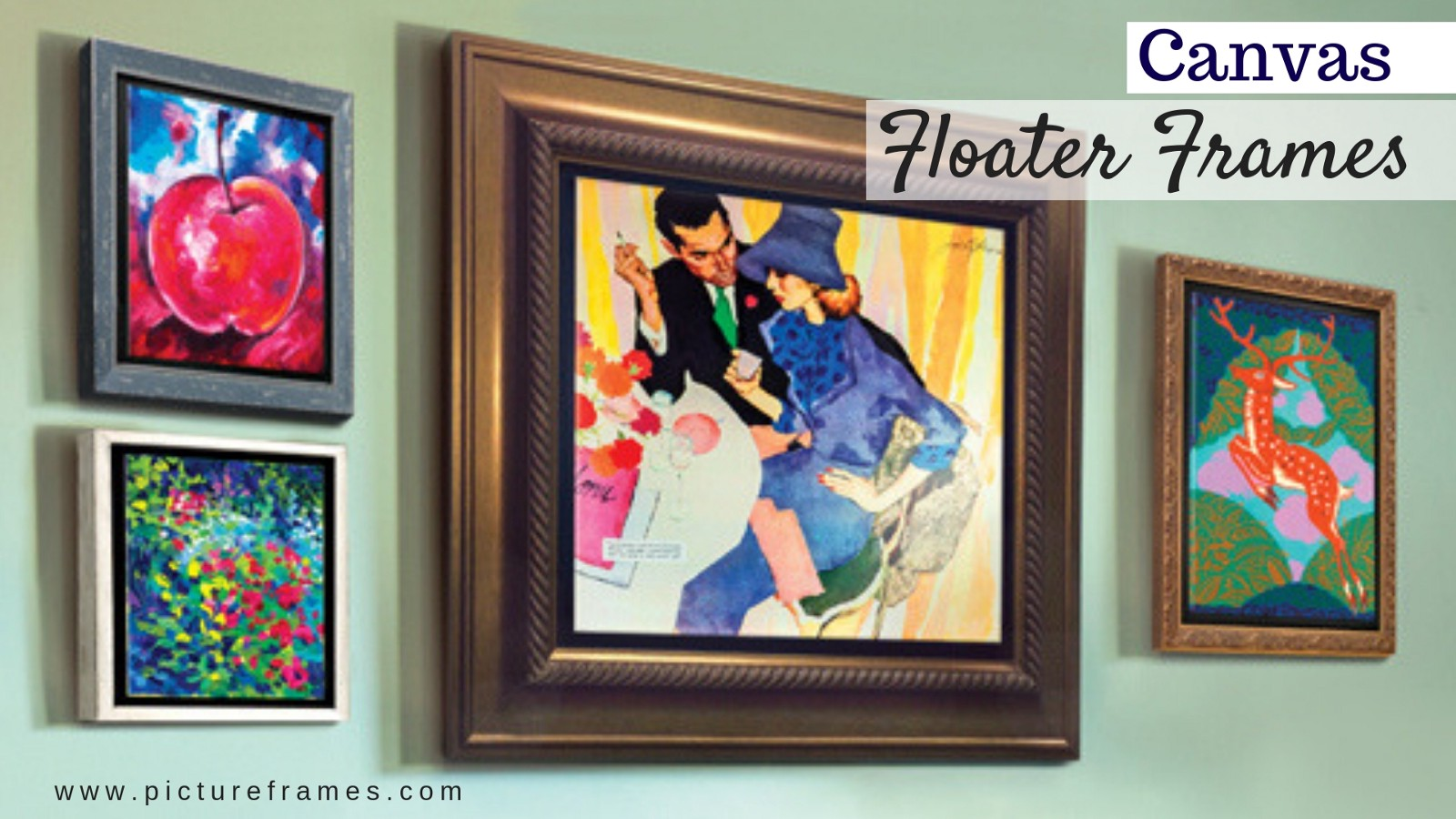 How To Frame Pictures How To Frame Your Artwork Using Canvas Floater Frame