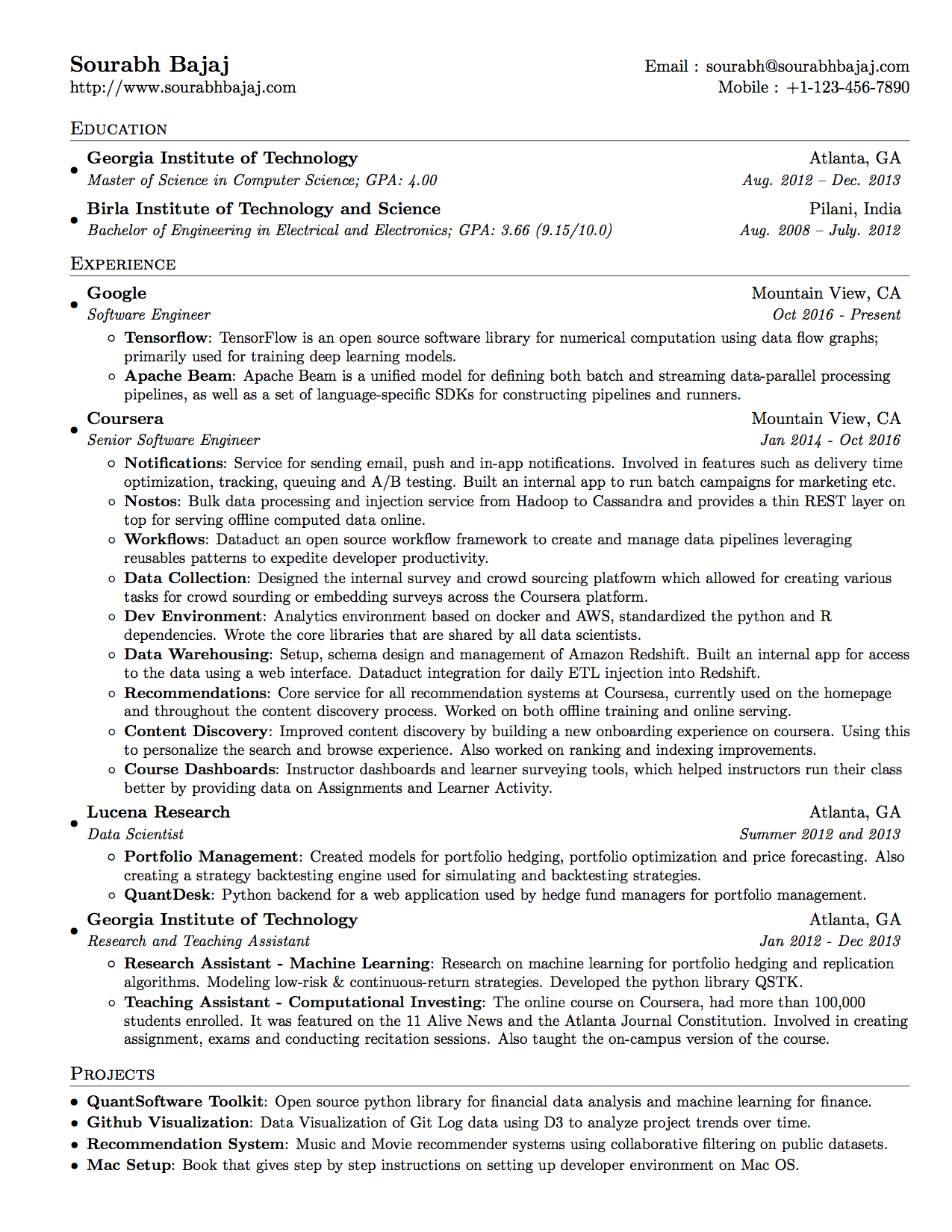 google how to write a resumes