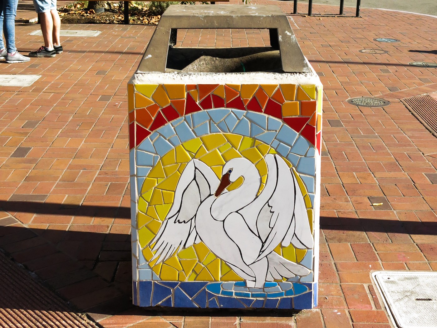 Colorful Garbage Cans How Oakland Is Turning Trash Cans Into Art The Bold Italic