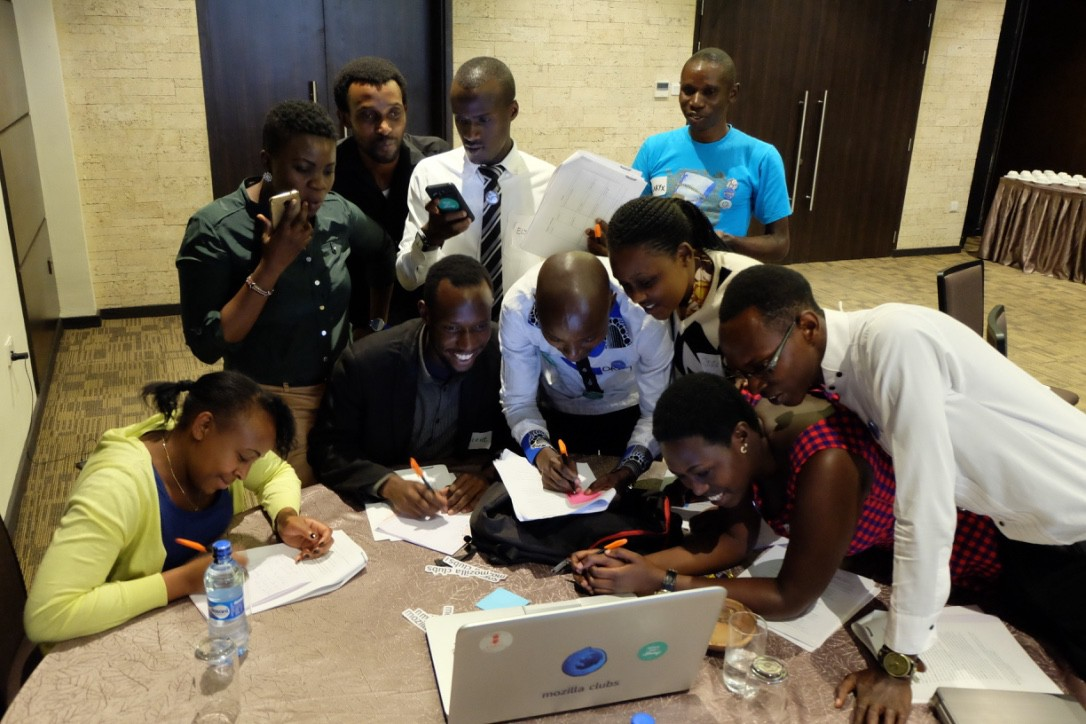 Training Digital Leaders with Mozilla in Nairobi and Dar es Salaam