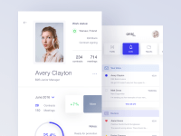 50 User profile page  Design Inspiration  Muzli - Design ...