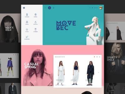 Fashion Web Design Inspiration 2017 – Muzli - Design ...