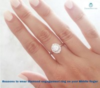 Reasons to Wear Diamond Engagement Ring on Your Middle Finger.