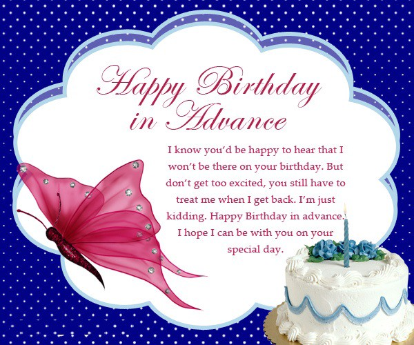 Magnificent Advance Happy Birthday Wishes For Best Friends