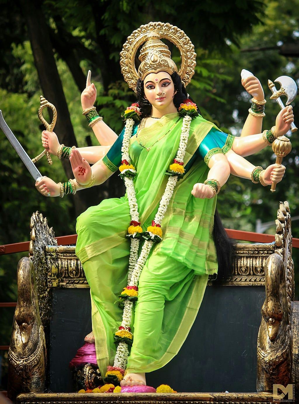 Jai Mata Di Hd Wallpaper This Is How India Celebrates Navratri Durga Puja Festival