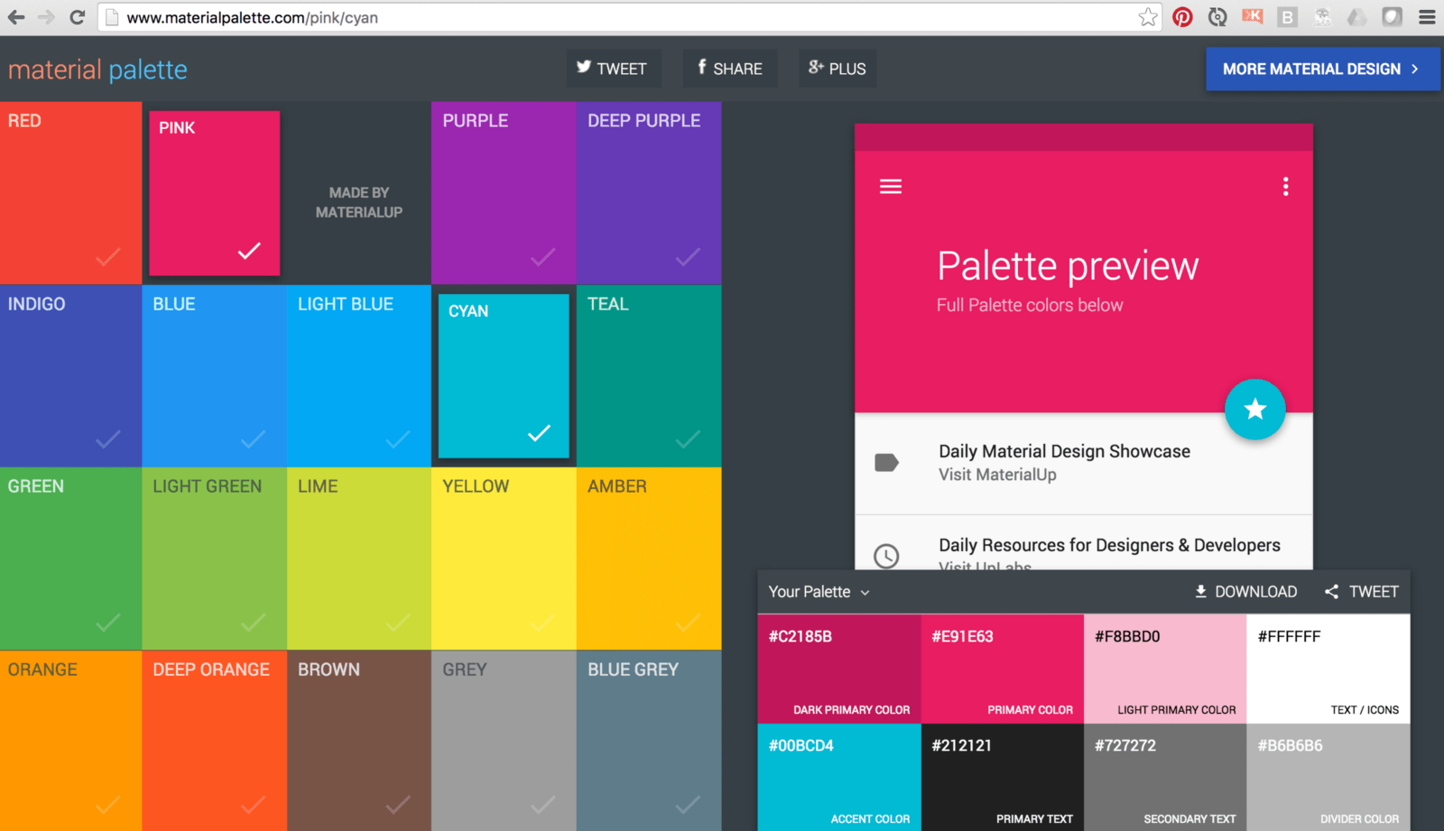 Paletten Bilder Adding A Material Design Color Palette To Your Angular Material 2 App
