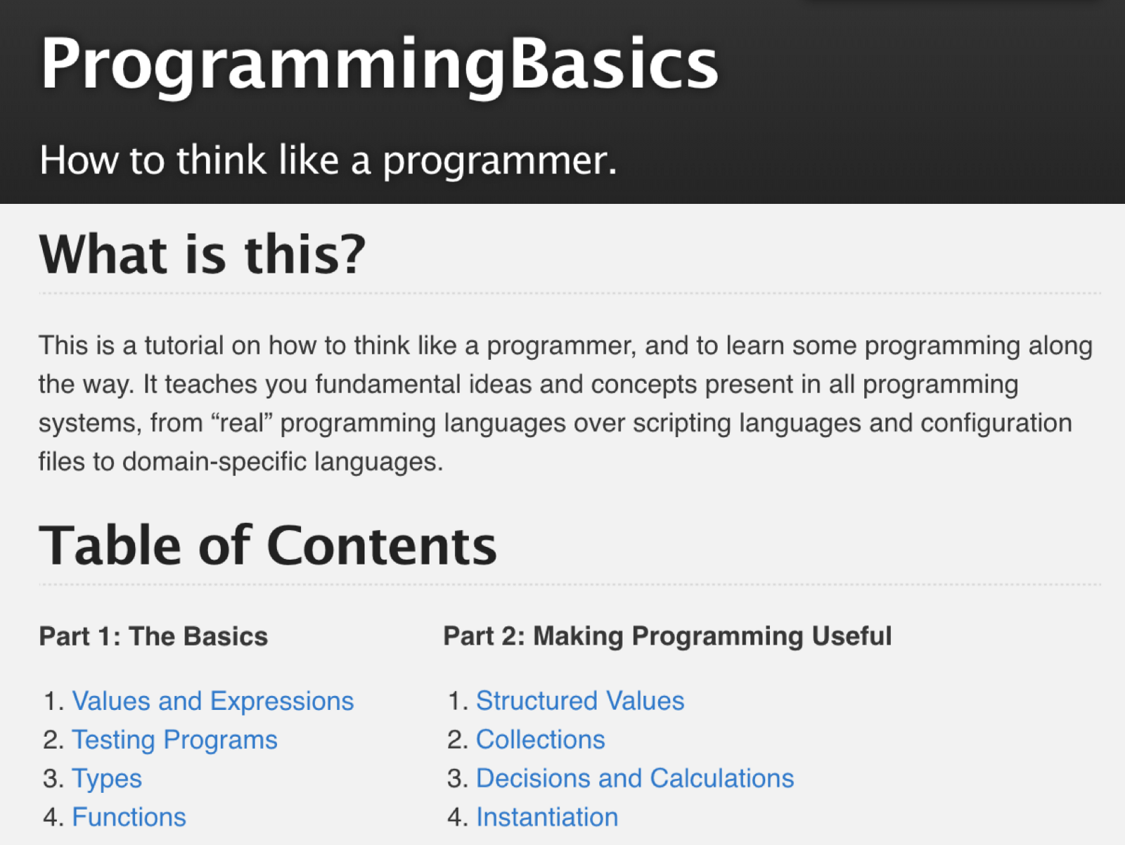 Programming Tutorial Teaching The Basics Of Programming To Domain Experts