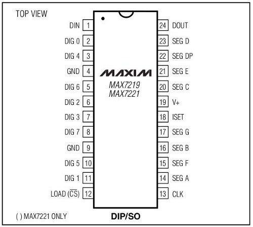 Arduino Led Matrix 8×8, Max7219 and Arduino Uno R3