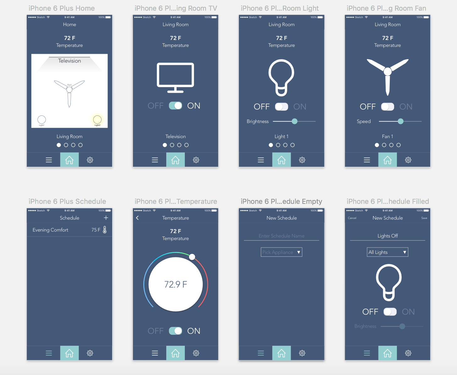 Smart Home App Smarthome App Design Monish Kumar Medium