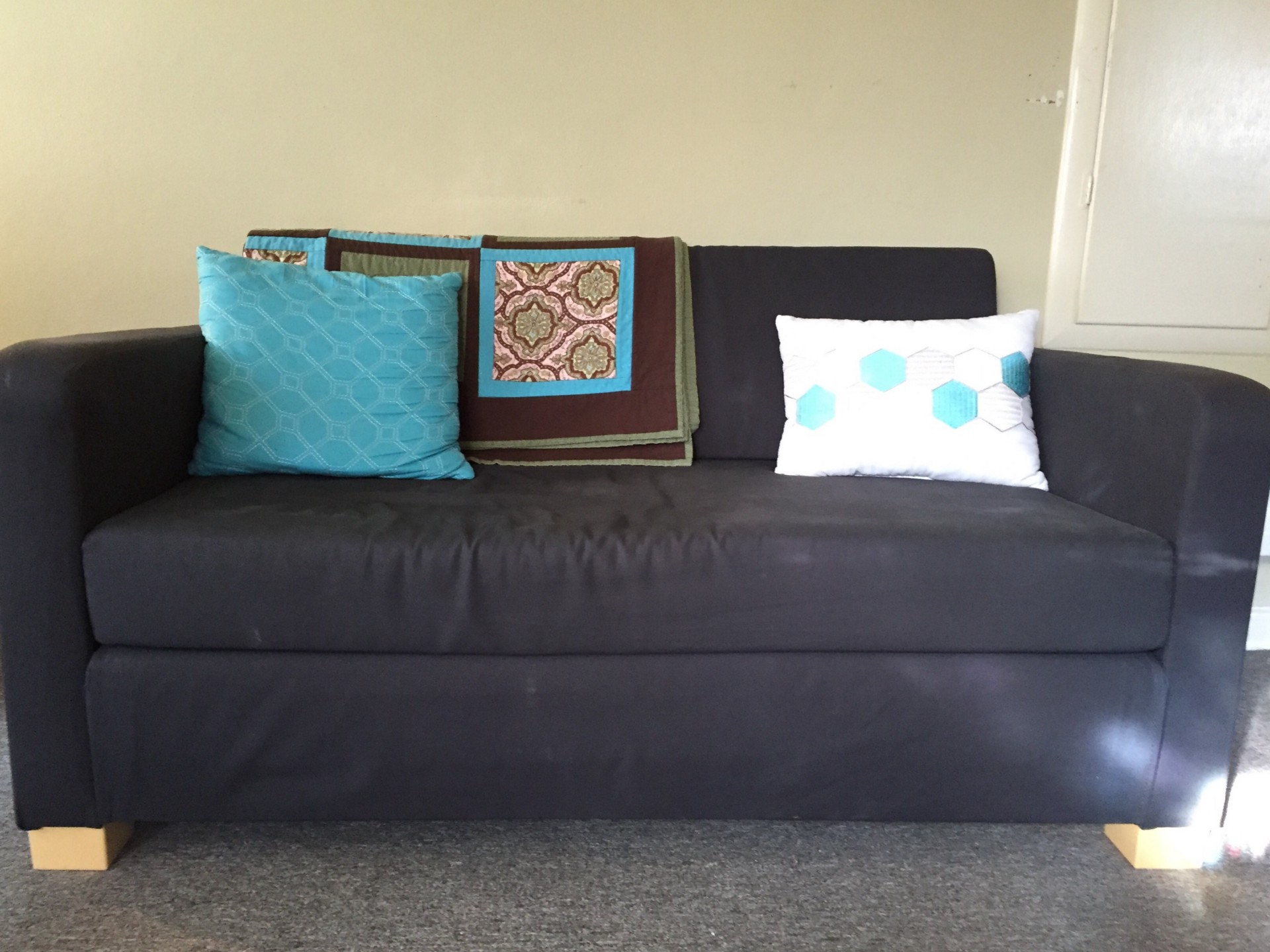 Sofa Ikea One Year With Ikea S Second Cheapest Sleeper Sofa The Billfold
