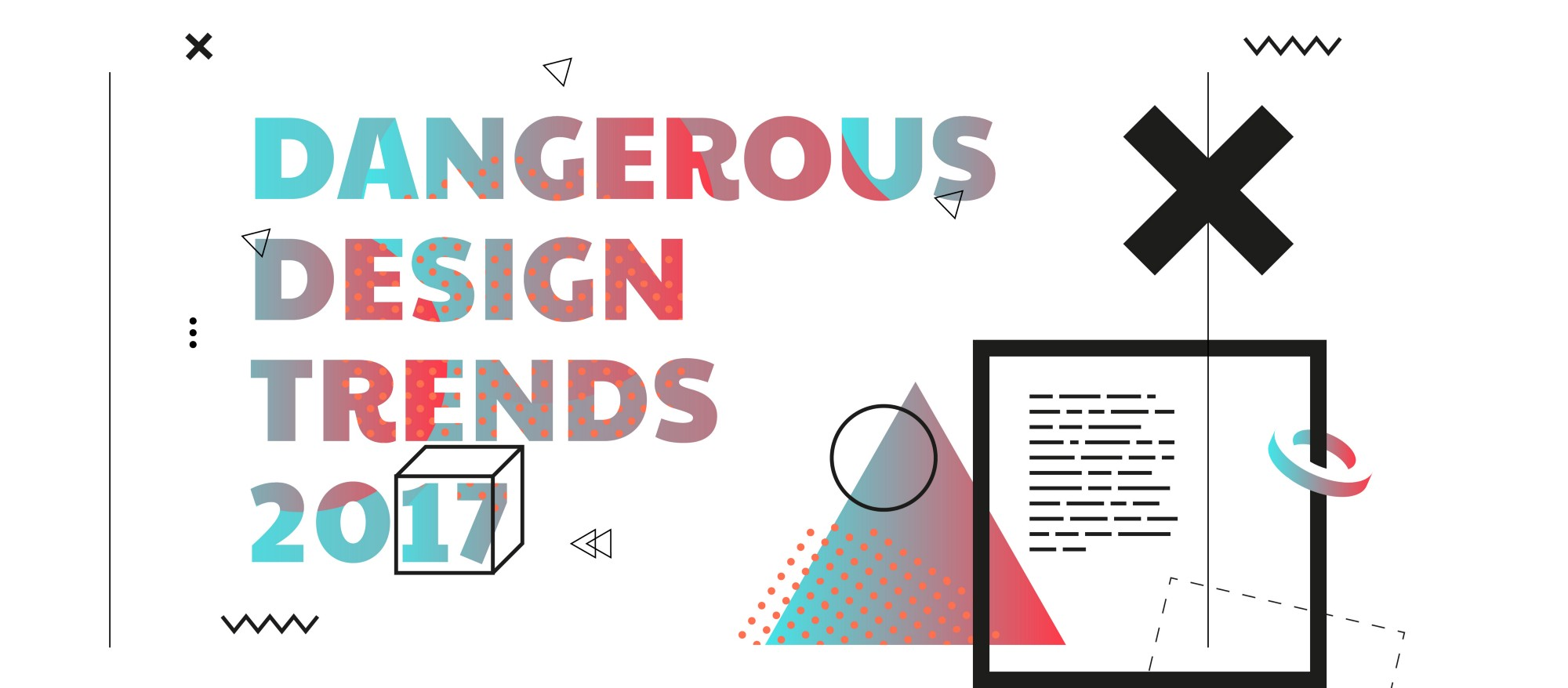 Trend Desain 2017 Dangerous Design Trends 2017 Muzli Design Inspiration