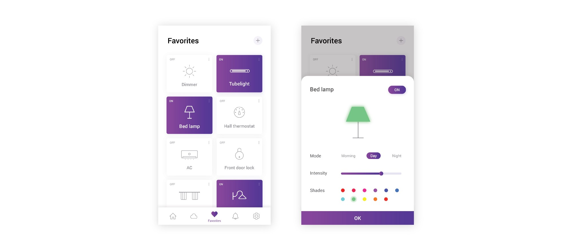 Smart Home App How I Designed Otomate Smart Home App Prototypr
