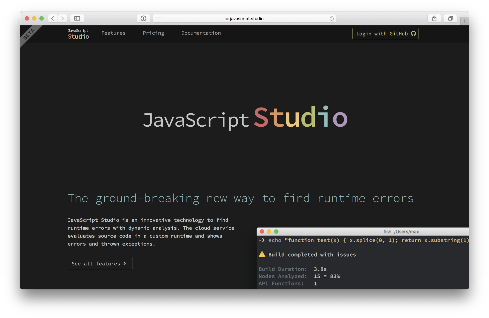 Javascript Cloud Javascript Studio Publicly Available Javascript Studio Medium
