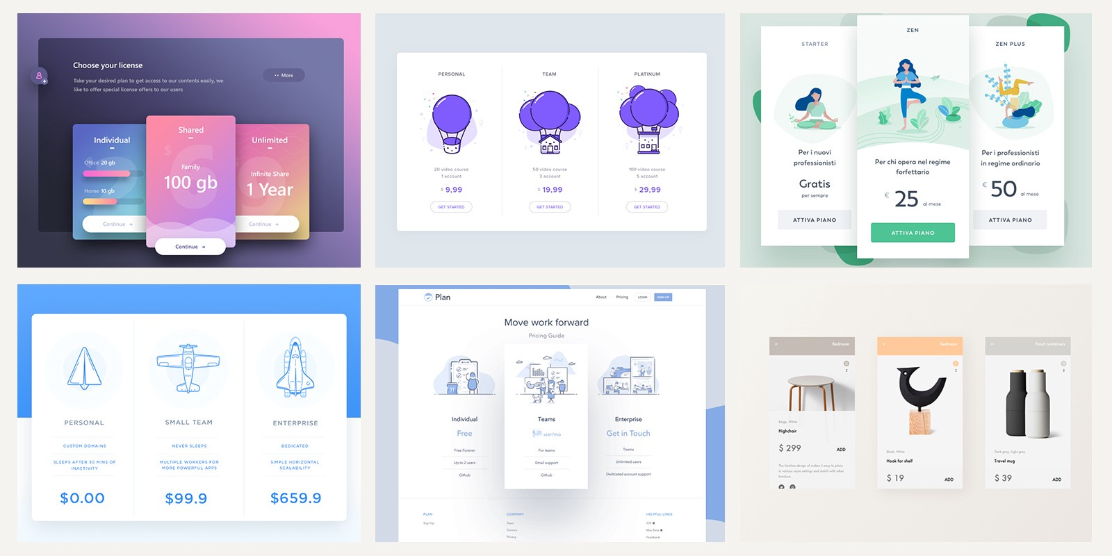 Pricing Tables Design Inspiration Muzli Design Inspiration