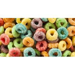 Small Crop Of Fruit Loop Donut