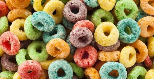 Medium Of Fruit Loop Donut