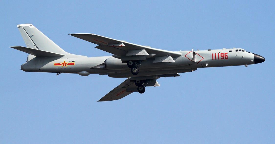 The H 6k Is Chinas B 52 War Is Boring Medium