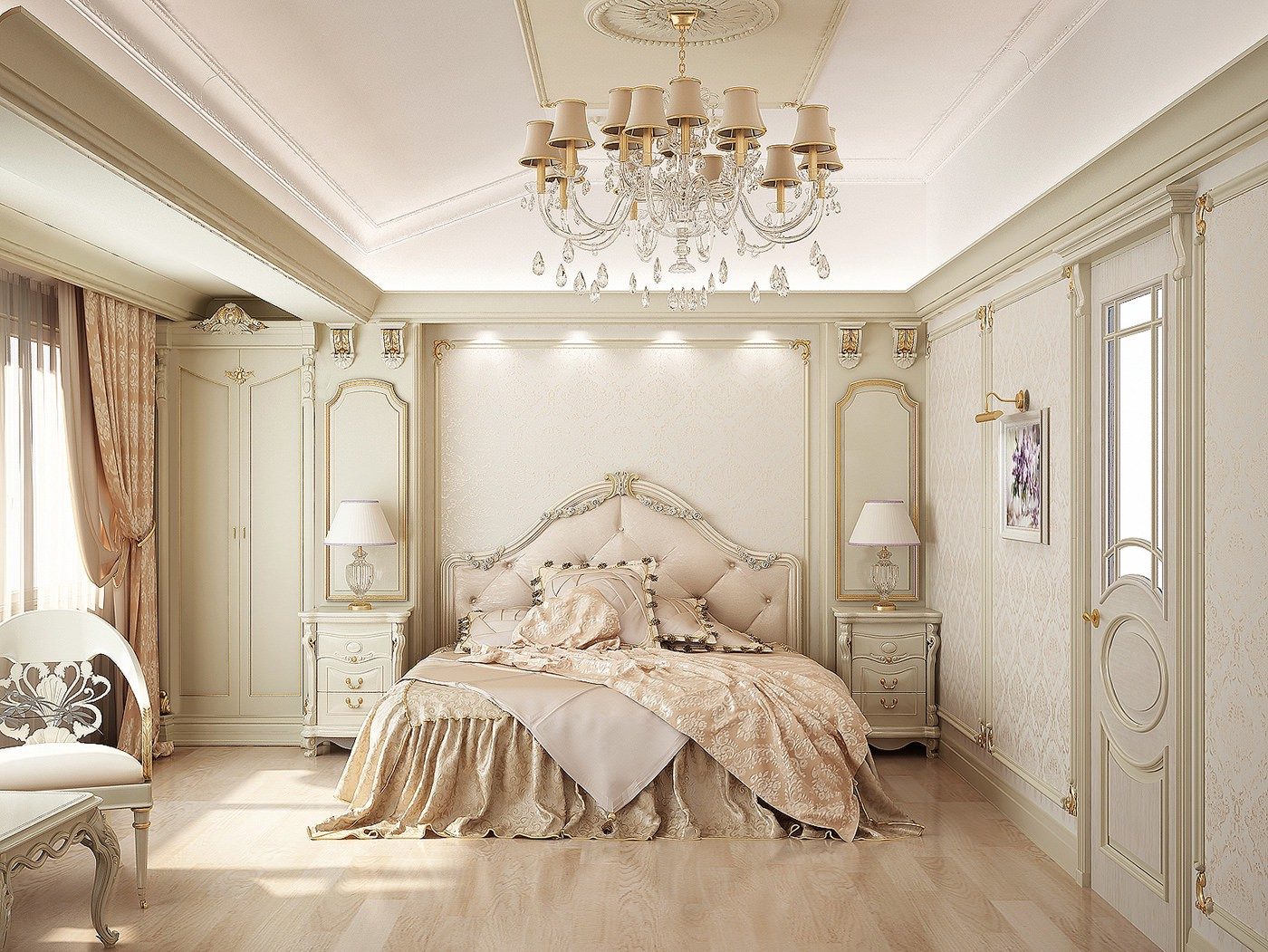 Bed Designs 2017 Classy Elegant Traditional Bedroom Design Dior Furniture Nyc