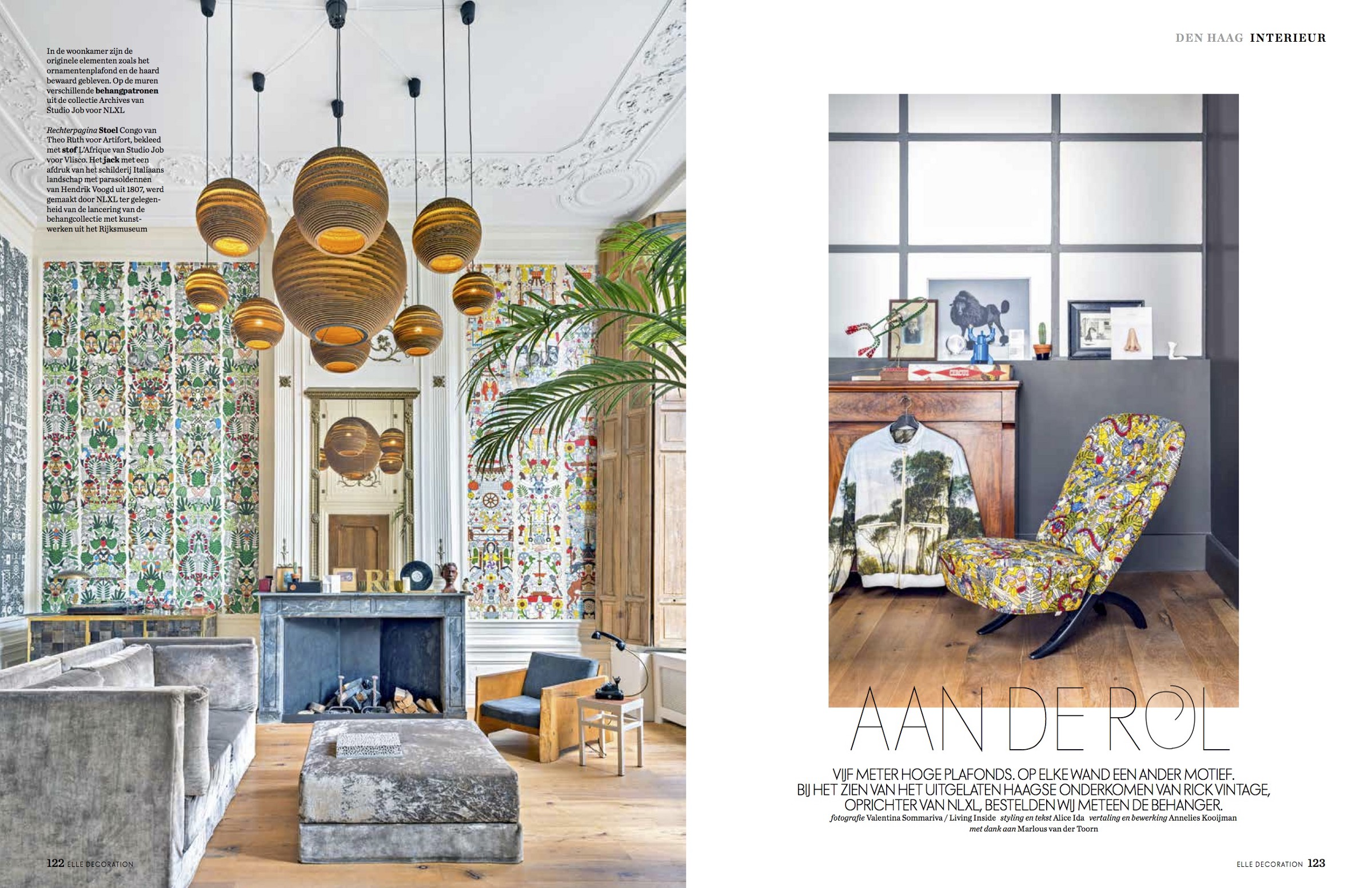 Teksten Op Muur Woonkamer Irony And Style For The House Of Rick Vintage Creative Director