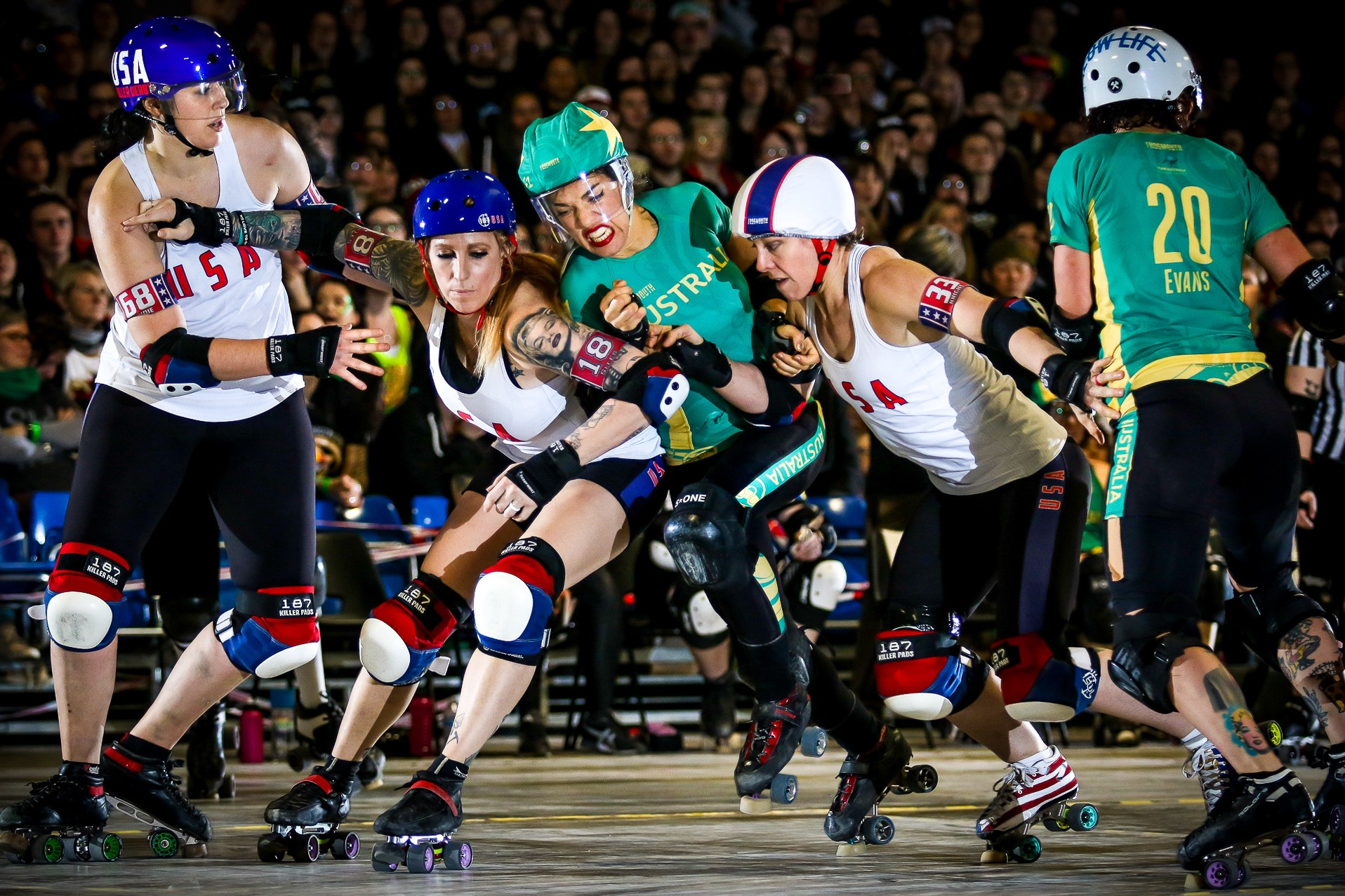 Roller Australia The Best Roller Derby World Cup Photos Frogmouth Medium