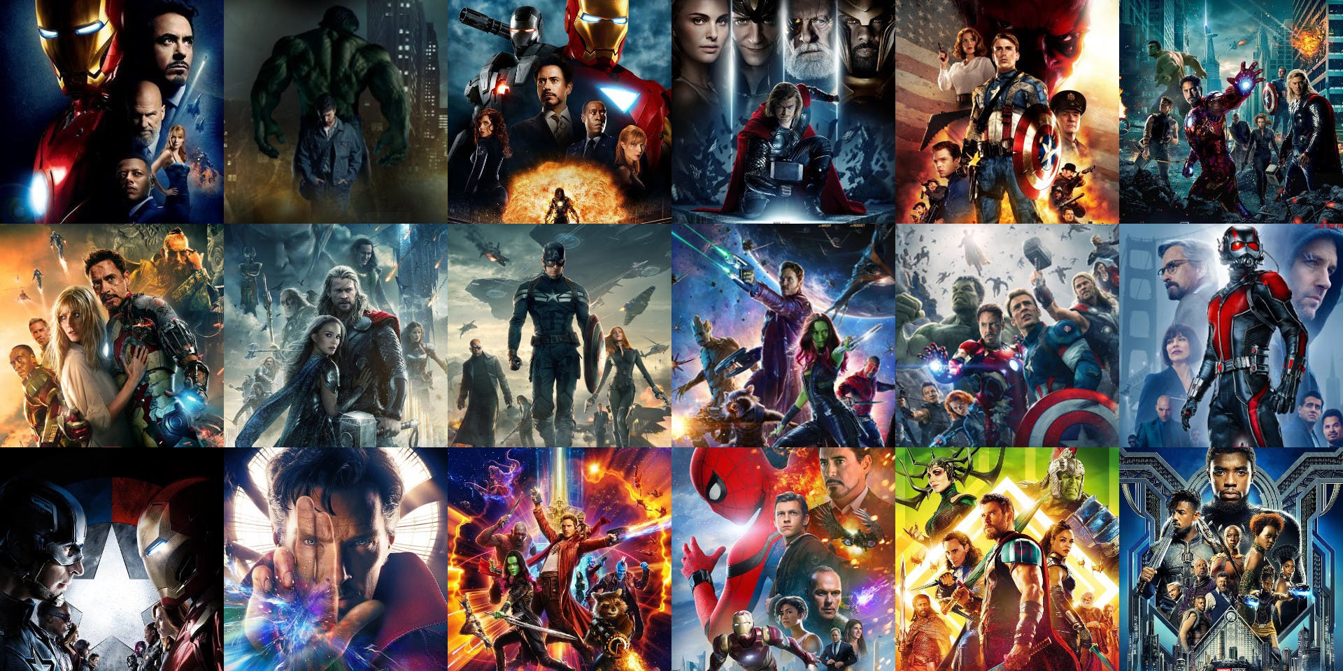 Movel Moveis The Conclusive Ranking Of All Movies In The Marvel Cinematic Universe