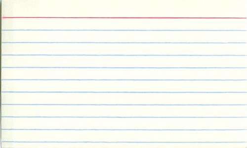 Screenwriting Tip Index Cards \u2013 Go Into The Story - what size are notecards