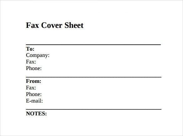 How to Use Fax Cover Sheets and Templates \u2013 Amit Choudhary \u2013 Medium