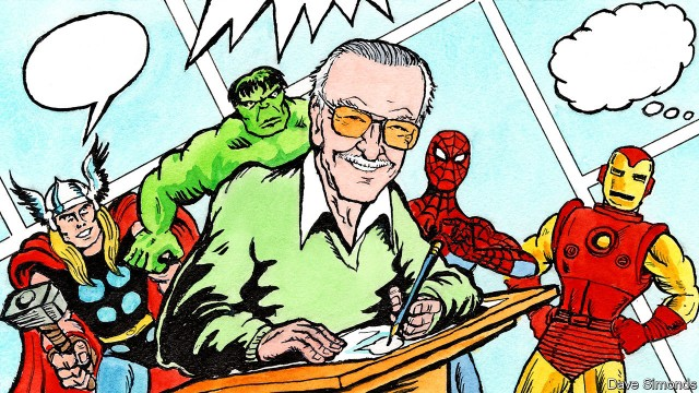 Stan Lee, the creator-writer of Marvel Comics\u0027 heroes and villains