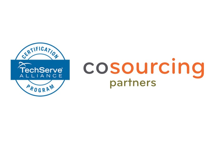 CoSourcing Partners Recruiting Team Achieves 100 TechServe Alliance