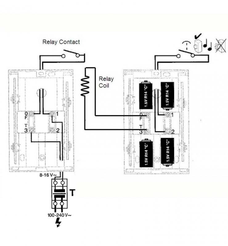 door bell wiring diagram two chimes