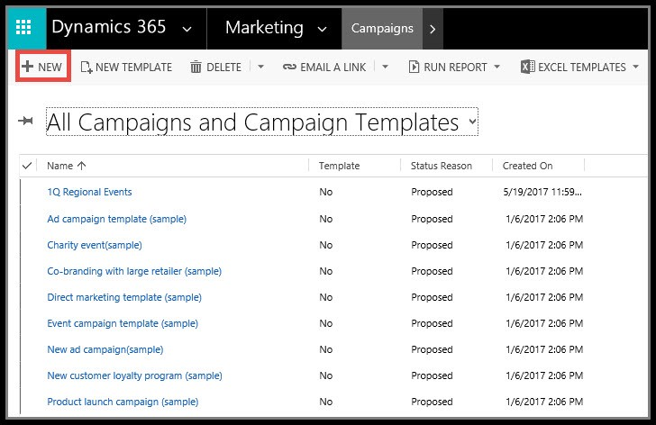 How does Dynamics 365 help my marketing campaign? \u2013 Dynamic - sample marketing campaign
