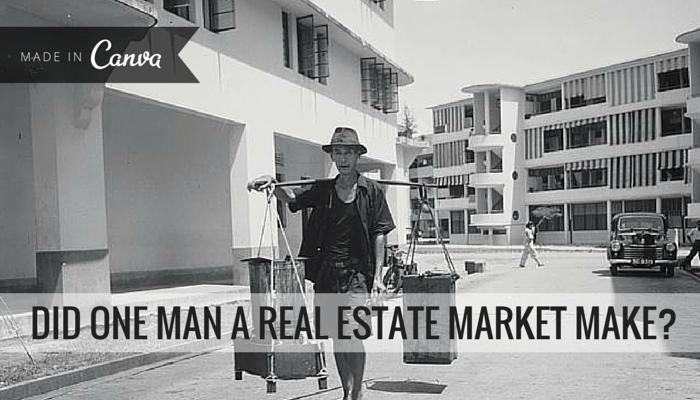 Did One Man a Real Estate Market Make