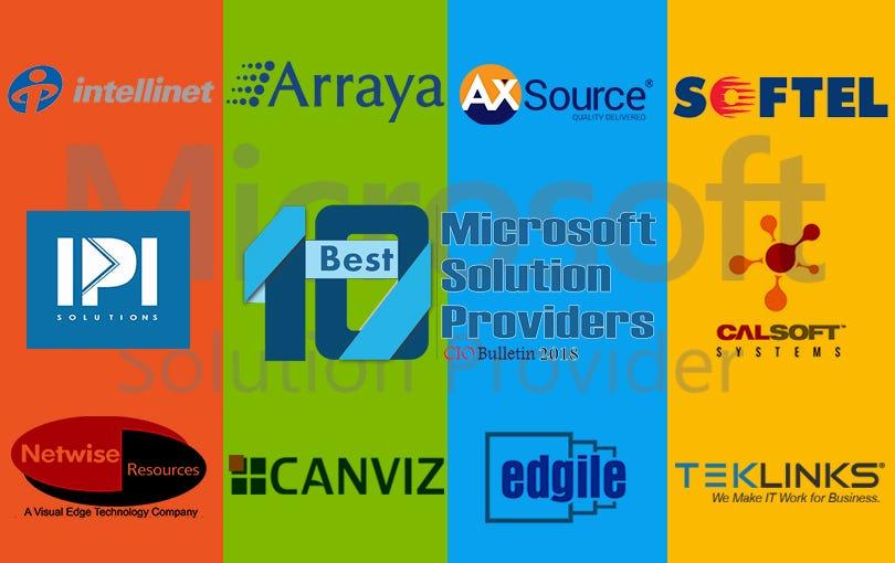 10 Best Microsoft Solution Providers 2018 \u2013 CIO Bulletin \u2013 Medium - microsoft bulletin