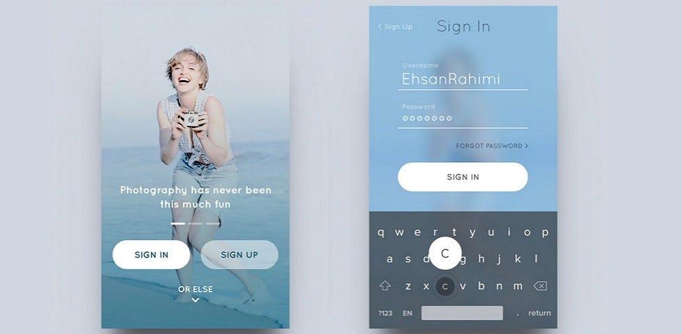 iOS Design Patterns \u2014 Top 12 Mobile App UI Design Inspirations
