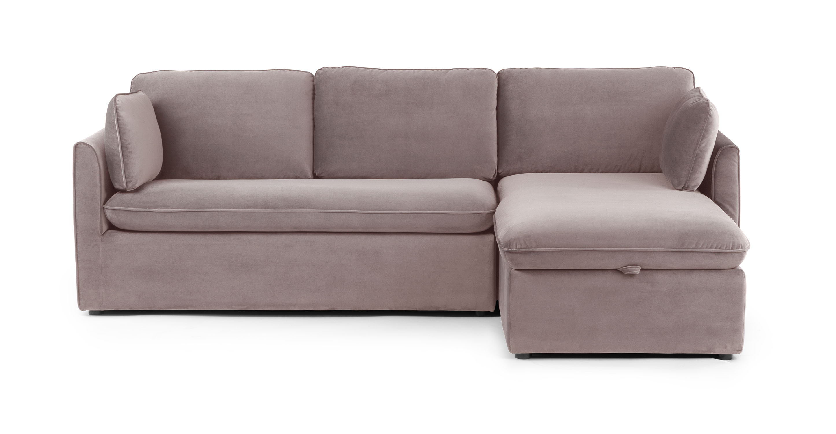 Velvet Sofa Wear And Tear Taupe Velvet Sofa Bed Right Sectional Metal Legs Article Oneira Modern Furniture
