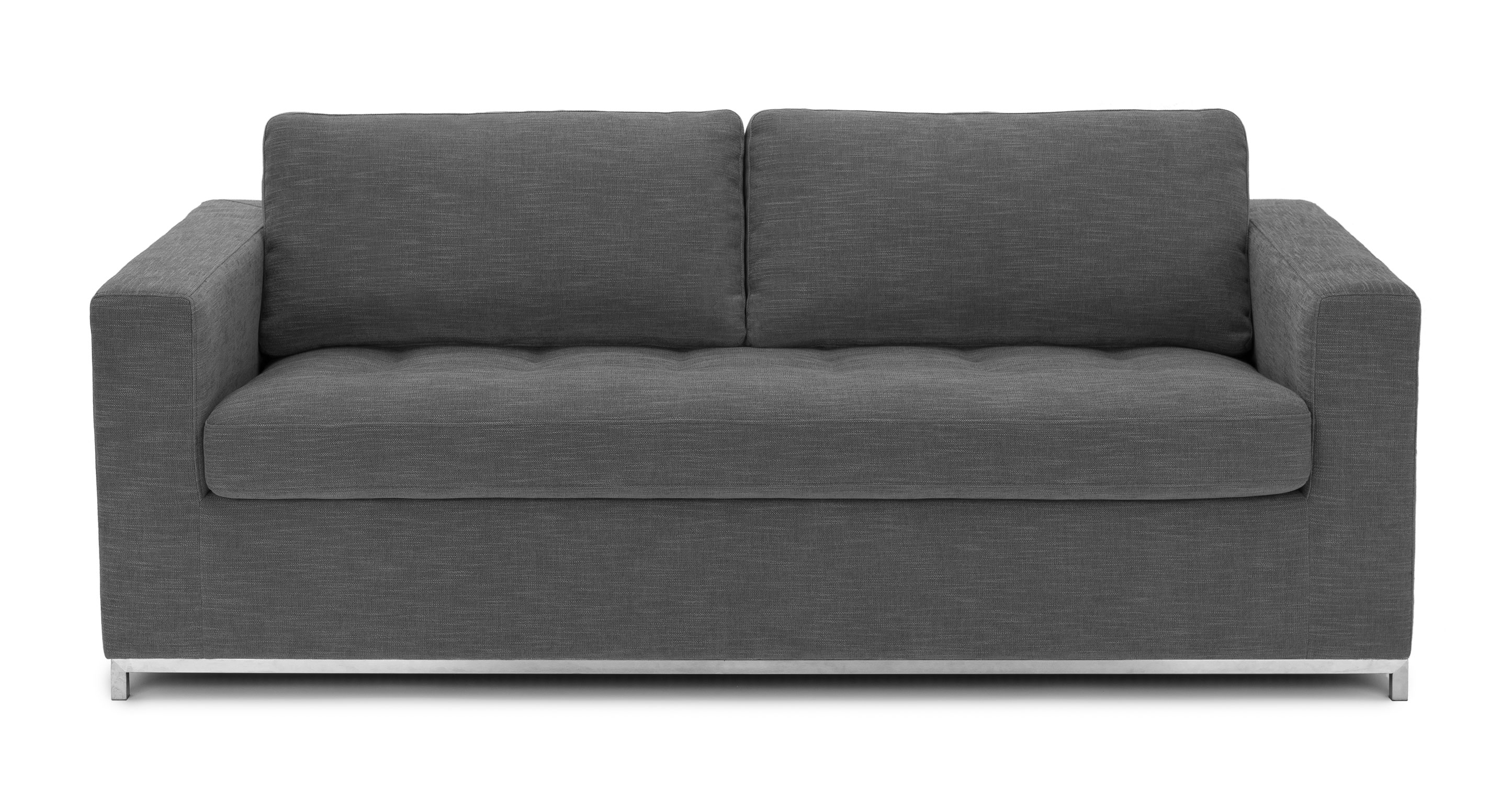 Modern Couch Soma Twilight Gray Sofa Bed
