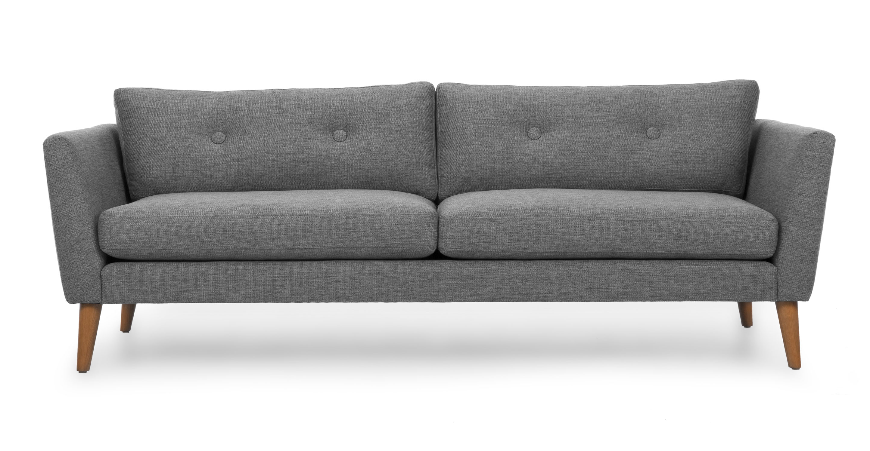 Emil Gravel Gray Sofa Sofas Article Modern Mid